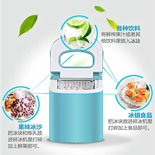 Portable Automatic ice Maker, Household bullet round ice make for family, bar,coffee Ice making s