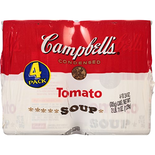 Campbell Hausfeld Condensed Soup, Tomato, 10.75 Ounce, 4 ...