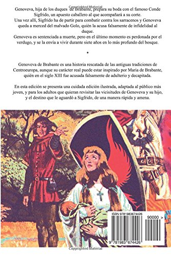 Genoveva de Brabante: Edición Juvenil Ilustrada: Amazon.es: Christopher Schmid: Libros