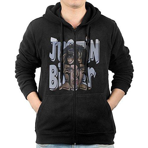 MEN Justin Bieber Believe Tour Zip Hoodie Sweatshirt