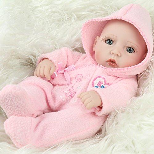 Lovely Mini 11inch Full Vinyl Girl Baby Dolls Lifelike Hobbies Real Looking Baby Dolls Toys