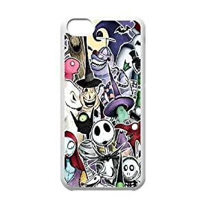 FOR Iphone 5c -(DXJ PHONE CASE)-The Nightmare Before Christmas Movie-PATTERN 6