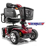 Pride Mobility - Victory Sport - Full-Sized Scooter - 4-Wheel - Viper Blue