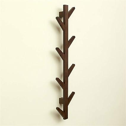 YILIAN Yimaojia Forma Creativa Rama de bambú Perchero Pared ...