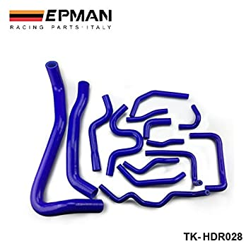 EPMAN -Silicone turbo intercooler del manguito del radiador Kit para Civic Type R FN2 06-10 (14pcs) EP-HDR028: Amazon.es: Coche y moto