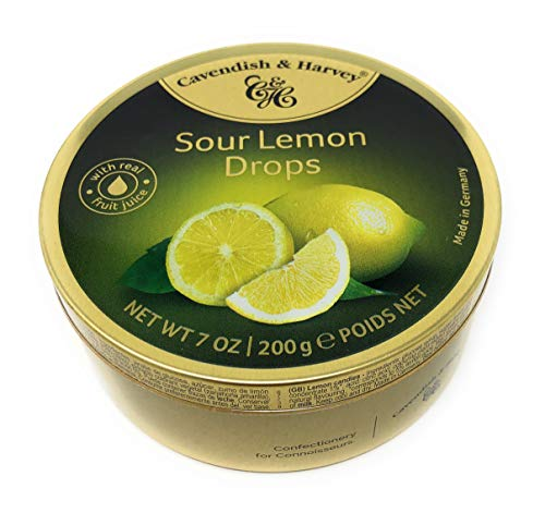 Sour Lemon Drops in a Tin Can ~ Germany