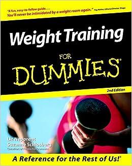 Weight Training For Dummies: Amazon.es: Suzanne Schlosberg ...