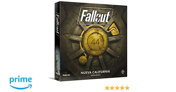 Fantasy Flight Games- Fallout: New California, Color (FFZX03 ...