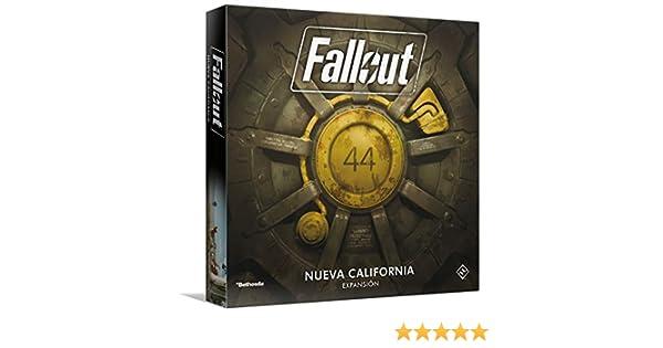 Fantasy Flight Games- Fallout: New California, Color (FFZX03): Amazon.es: Juguetes y juegos