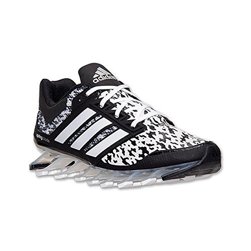 White Adidas Silver Black 5 los Springblade Tamaño W Print Drive de zapatos 4rwqf4867