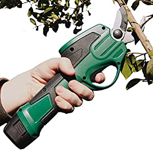 Burwells Bergman 7.2V Cordless Electric Pruner – Gardening Pruning Shears, Branch Cutter, Garden Lopper, Hedge, Trees…