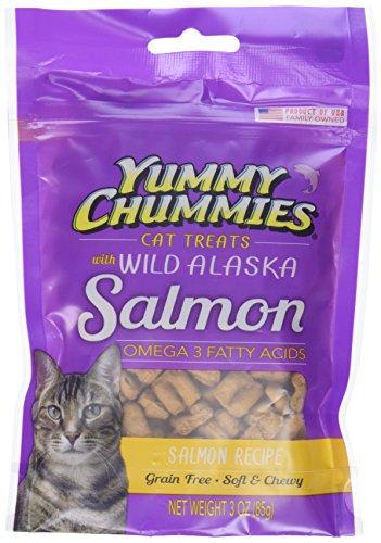 Yummy Chummies Grain Free Wild Alaska Salmon Cat Treats