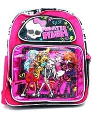 Monster High Backpack 12 in School Bag Purple - NEW STYLE