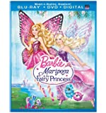 Barbie Mariposa & the Fairy Princess (Blu-ray + DVD + Digital Copy + UltraViolet)