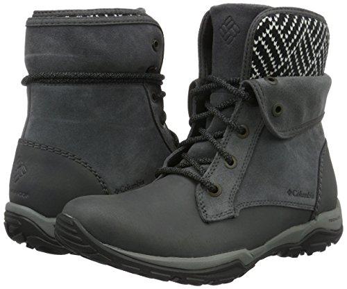 Femme Chaussures Columbia Gris Fold Waterproof D'extérieur Foncé Cityside qwgXPg6R
