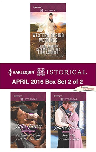 book cover of Harlequin Historical April 2016 - Box Set 2 of 2