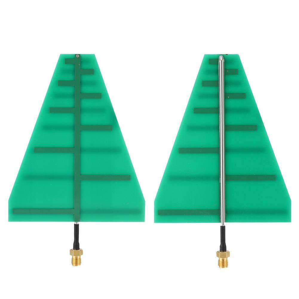 Logarithmic Period Antenna 15W 5-6dB 1.35-9.5GHz UWB Ultra Wide Band Antenna Linear Directional Polarization RF Directional Antenna