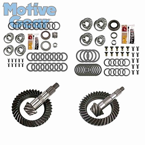 Motive Gear Pinion - Motive Gear Performance Differential MGK-102 Motive Gear-Differential Complete Ring and Pinion Kit-Jeep JK-Front and Rear Differential Ring and Pinon Front and Rear Complete Kit