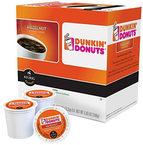 Keurig K Cup Dunkin Donuts Hazelnut