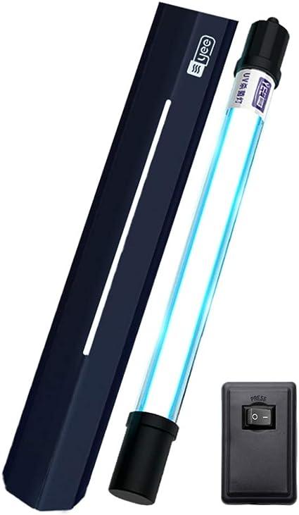Lámpara esterilizadora UV Luz Sumergible Filtro Ultravioleta Purificador de Agua a Prueba de Agua Purificador de ...