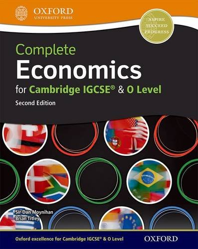 Economics: A Complete Course for IGCSE and O Level (Titley)