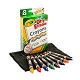 Toys : Crayola Dry-Erase Crayons, 8 Count