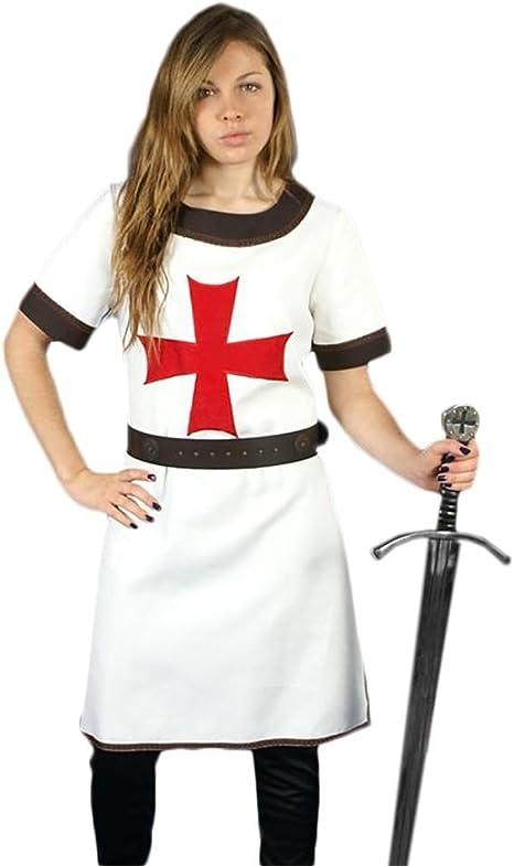 Medieval Factory Traje Templario Corto mujer: Amazon.es: Juguetes ...