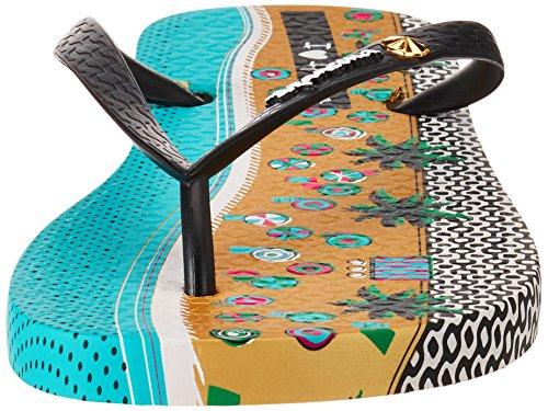 Ipanema I Love Tribal Fem, Chanclas para Mujer Mehrfarbig (beige/black)