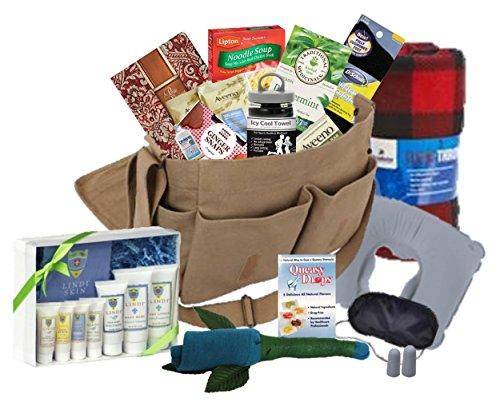 The Works Chemo & Radiation Gift Basket for Men - Messenger Bag