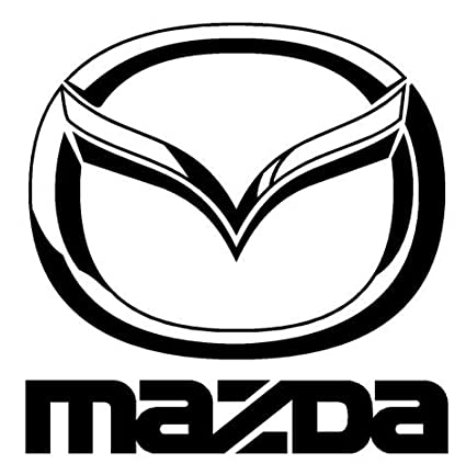 Amazon Com Mazda V1 Decal Sticker