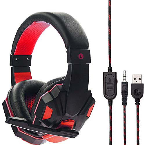 JP-DPP9 Game Music Wired Headphones-3.5mm USB Headband Heads