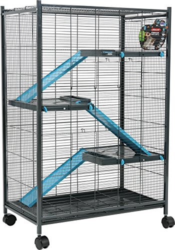 Zolux Chinchilla/Ferret/Rat Cage Blue 72x 43x 107cm