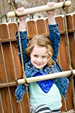 Squirrel Products 6 ft. Climbing Rope Ladder for Kids - Swing Set Accessories