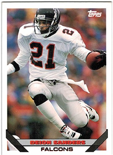 - 1993 Topps Atlanta Falcons Team Set with 2 Deion Sanders & Andre Rison - 23 Cards