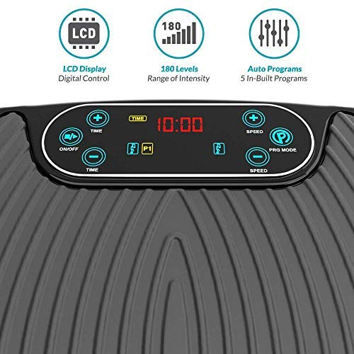 Bluefin Fitness Dual Motor 3D Vibration Platform   Oscillation, Vibration + 3D Motion   Huge Anti-Slip Surface   Bluetooth Speakers   Ultimate Fat Loss   Unique Design   Get Fit at Home by Bluefin Fitness (Image #8)