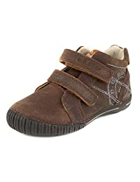 D.D. Step Boys' trendy boots, brown, genuine leather (036-9C)