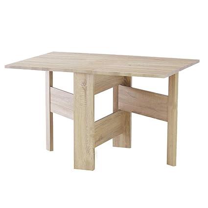 Solid Wood Folding Table.Amazon Com Xiaolin Table Solid Wood Folding Table Dining