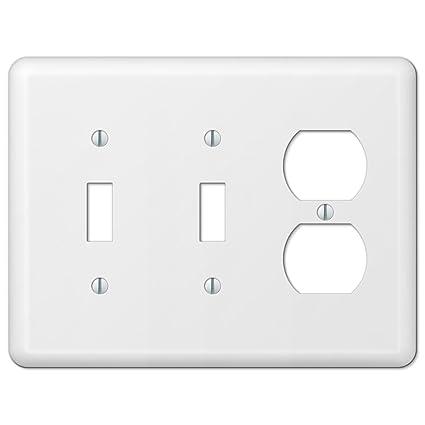 Devon 935TTDW White 2 Toggle / Duplex Outlet - - Amazon.com