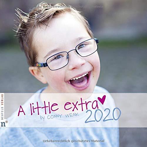 Wandkalender A Little Extra 2020  Fotografien Von Kindern Und Jugendlichen Mit Down Syndrom  A Little Extra   By Conny Wenk