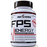 100% Natural Energy Pills - All Day Energy - Boost Focus, Mental Clarity, and Mood - FPS Energy Supplement - 60 Count
