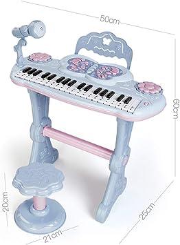 QARYYQ El Teclado de Piano de Juguete para niños Principiantes ...