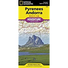 Pyrenees & Andorra adv. ng r/v (r) wp (Adventure Map (Numbered)) by National Geographic Maps (2011-09-13)