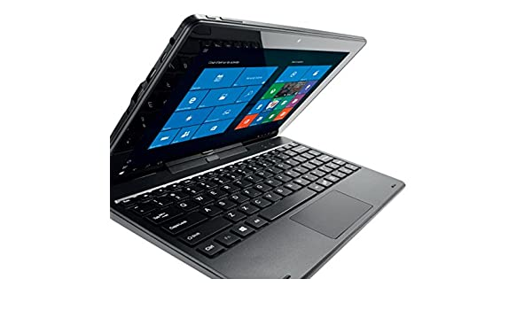 Qilive - Tablet (Tableta de tamaño completo, IEEE 802.11n, Windows, Convertible (extraíble), Windows 10 Home, Negro): Amazon.es: Informática