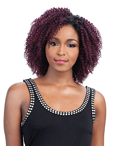 Q-TWIRL CURL (1B Off Black) - Milkyway Que Human Hair MasterMix Weave Extension
