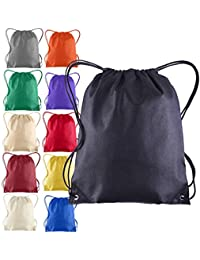 6cb0635254 Pack of 25 - Non-Woven Promotional Drawstring Bags - Drawstring Backpack in  BULK -