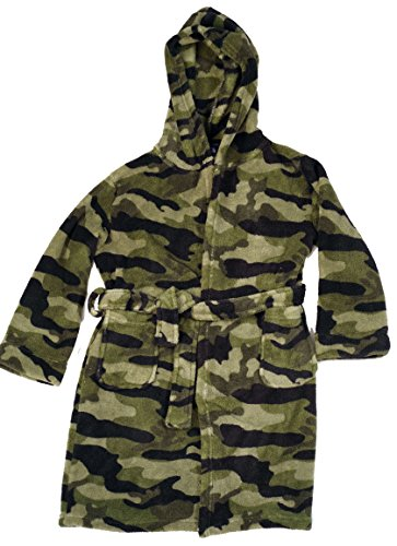 Prince of Sleep Fleece Robe Robes for Boys 75508-CAMOGRN-8 by Prince of Sleep