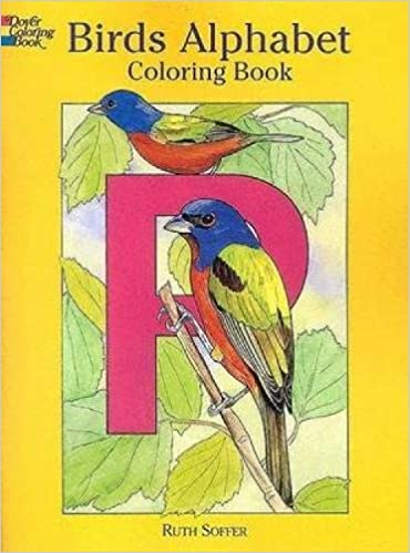 Birds Alphabet Coloring Book Dover Nature Ruth Soffer 9780486440354 Amazon Books