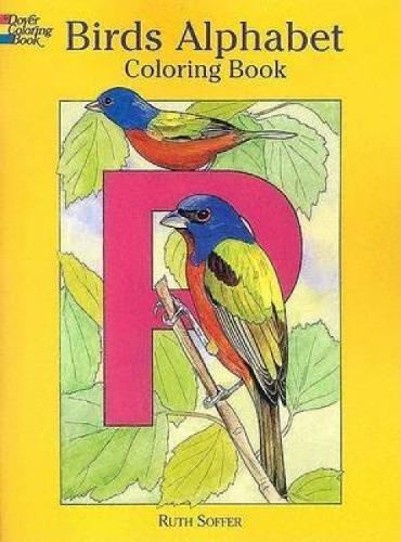 Birds Alphabet Coloring Book (Dover Nature Coloring Book)