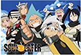 Great Eastern Entertainment Soul Eater Sky Wall Scroll, 33 by 44-Inch