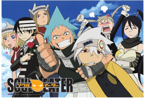 Great Eastern Entertainment Soul Eater Sky Wall Scroll, 33 b